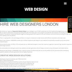 Web Designers London - Responsive Web Design Chiswick - SEO Web Design