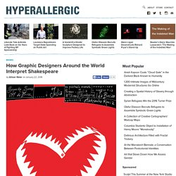 How Graphic Designers Around the World Interpret Shakespeare