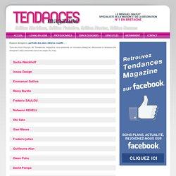 Espace Designers, Tendances magazine