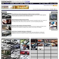 Tutoriales - Información para los que la esperanza de crear una carrera en Diseño Automotriz.
