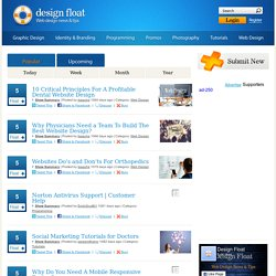 DesignFloat - Web Design News & Tips