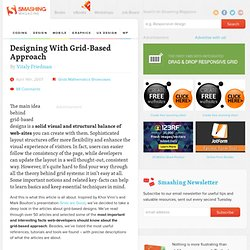 Designing With Grid-Based Approach - Smashing Magazine