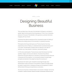 Designing Beautiful Business — Business Innovation Design