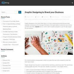 Graphic Designing to Brand your Business – Zweezle