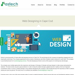 Web Designing in Cape Cod