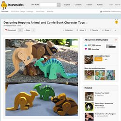 Designing Hopping Animal and Comic Book Character Toys: 4 Steps (with Pictures)