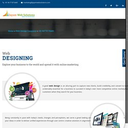 Web Designing In Chennai, Web Design Company In Chennai