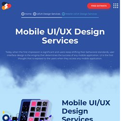 Top-notch Mobile UI/UX Designing Services At Shiv Technolabs