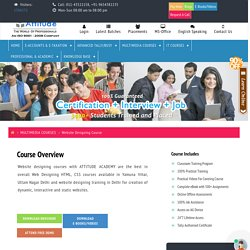 Web Designing HTML CSS Course in Yamuna Vihar, Uttam Nagar Delhi