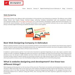 Best Web Designing Company in Dehradun Uttarakhand