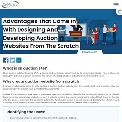 Auction Website Development Services