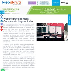 Website Designing and Development Company Nagpur India