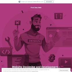 Website Designing and Development – eCommerce website services in Lahore – First Idea Web