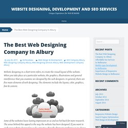 Website Designing, Development And SEO Services