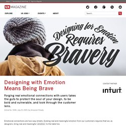 Designing with Emotion Means Being Brave