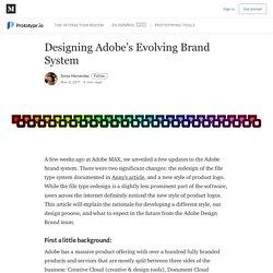Designing Adobe's Evolving Brand System - Prototypr