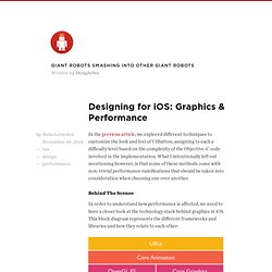Designing for iOS: Graphics & Performance