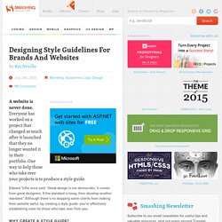 Designing Style Guidelines For Brands And Websites - Smashing Magazine