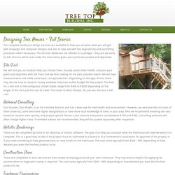Designing Tree Houses-Full Service|Design, Plan, Build a Tree House