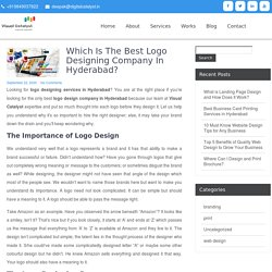 Which is the Best Logo Designing Company in Hyderabad – Visual Catalyst