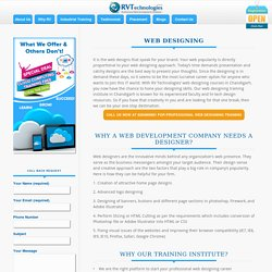 Web Designing Training Course and Institute in Chandigarh