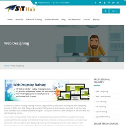 Web Designing Course, Training, Institute in Janakpuri, Dwarka, Uttam Nagar