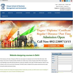 Website Designing Course in Rohini, Delhi