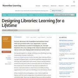 Designing Libraries: Learning for a Lifetime
