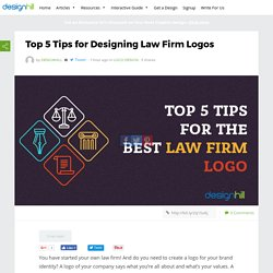 Top 5 Tips for Designing Law Firm Logos – Designhill