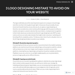 3 LOGO DESIGNING MISTAKE TO AVOID ON YOUR WEBSITE