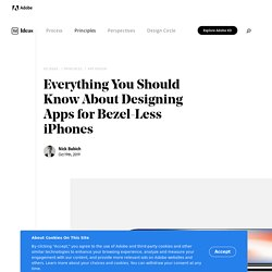 Designing Uis for Notches & Bezel-less iPhones