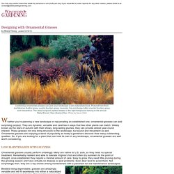 Designing with Ornamental Grasses