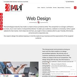Web Design Services Australia