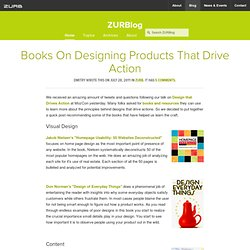 Books On Designing Products That Drive Action by ZURB