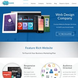 Web Design Company - Website Designing Services Technians
