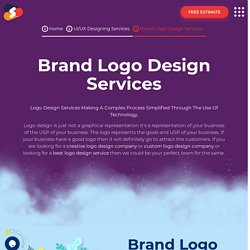 Top-notch Brand Logo Designing Services At Shiv Technolabs
