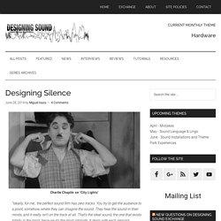 Designing Silence