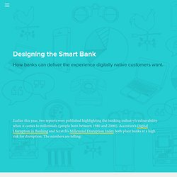 Designing the Smart Bank