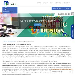 1800-1230-133 Web Designing Training Classes, Coaching, Institute in Delhi NCR