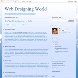 Web Designing World: Best Web Design Company in Delhi