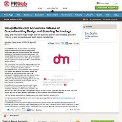 DesignMantic.com Announces Release of Groundbreaking Design and Branding Technology
