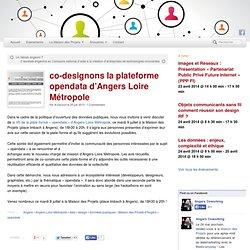 co-designons la plateforme opendata d'Angers Loire Métropole - Angers Coworking