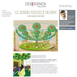 Designpack Gallery - Le jardin recycle du BHV - Revue de presse