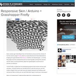 Archive » Responsive Skin / Arduino + Grasshopper Firefly
