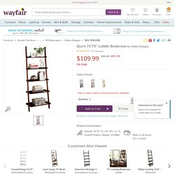 "Hokku Designs Quint 74.75"" Ladder Bookcase"