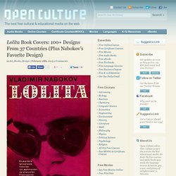 Lolita Book Covers: 100+ Designs From 37 Countries (Plus Nabokov's Favorite Design)