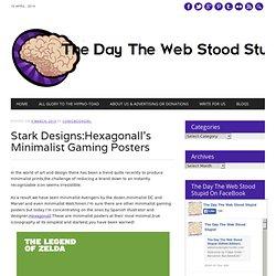 Stark Designs:Hexagonall's Minimalist Gaming Posters