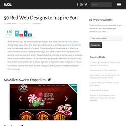 50 Red Web Designs to Inspire You