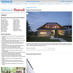 Modern House Designs - Japanese Homes