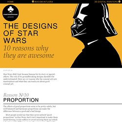 The Designs Of Star Wars 10 reasons why they are awesome ♣ essenmitsosse